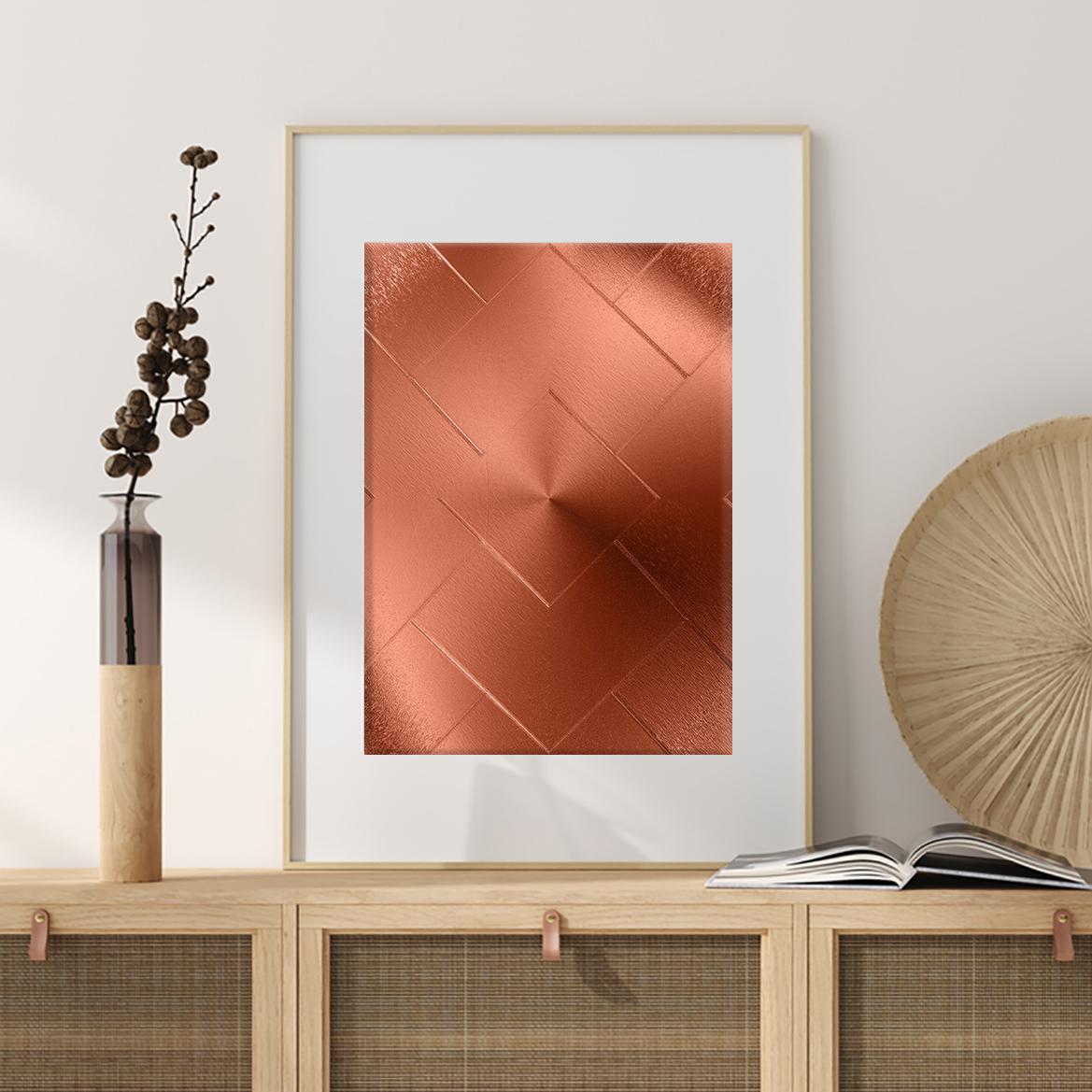 Design Poster / Bild mit Bilderrahmen