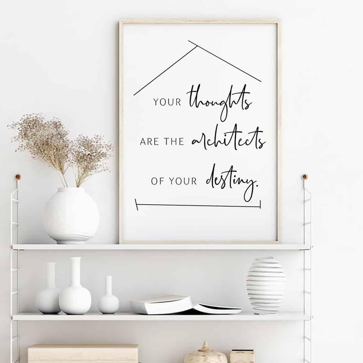 Sprüche Poster