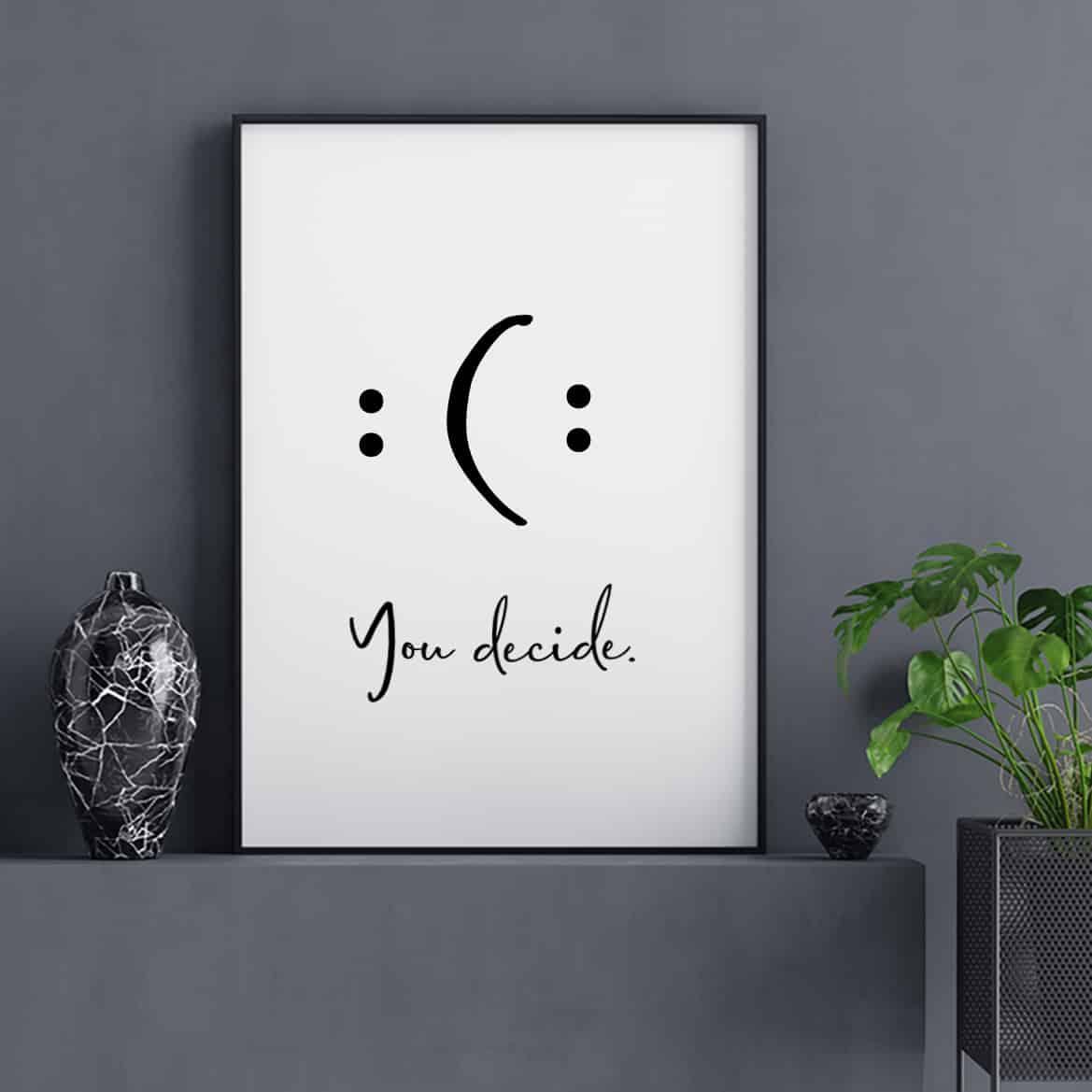 Sprüche Poster Motivation